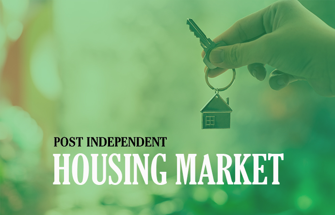 Post Independent housing real estate news graphic