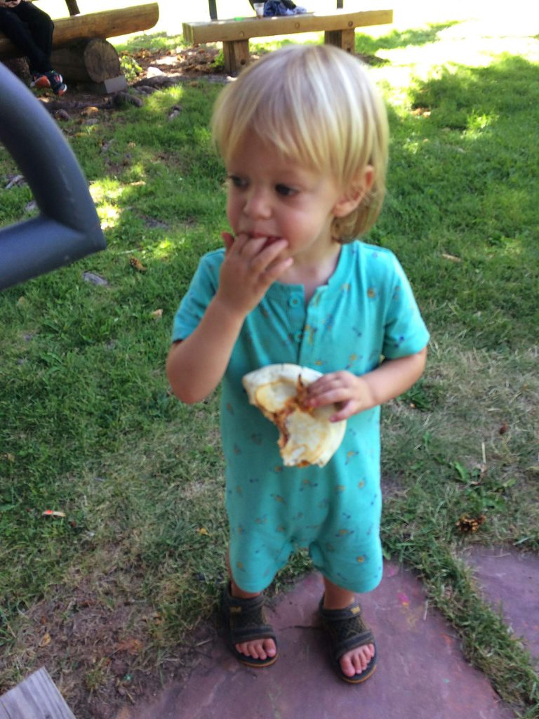 Empanadas are enjoyed by all ages.