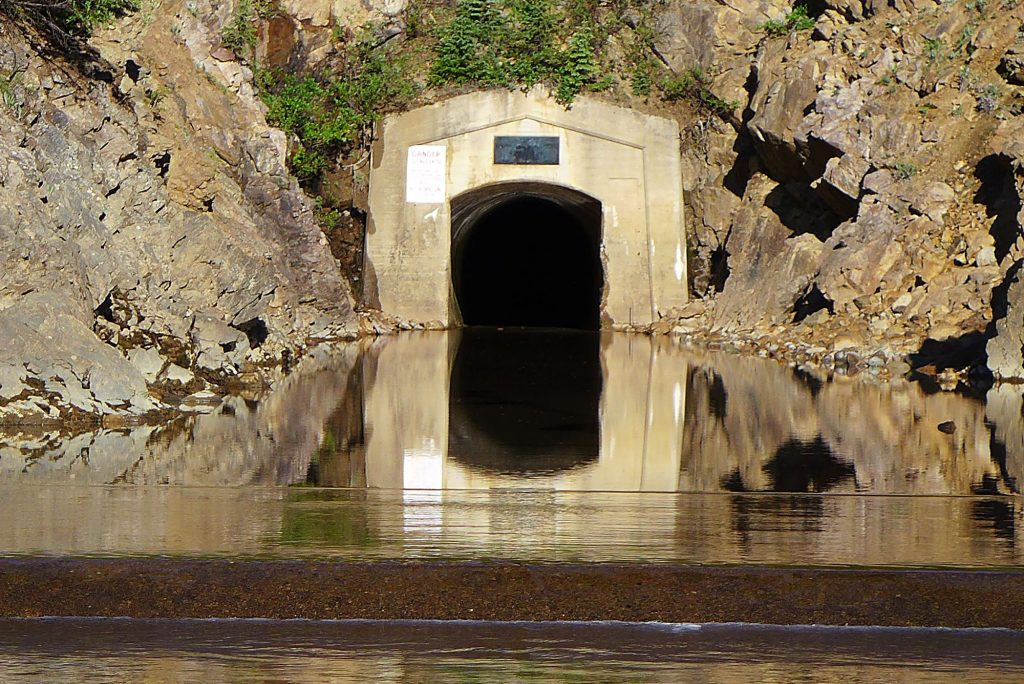 The east-side outlet of the Twin Lakes tunnel, which is operated by the Twin Lakes Reservoir and Canal Co., a member of the Front Range Water Council. The FRWC recently declined to meet with members of a Colorado Basin Roundtable group about demand management.
