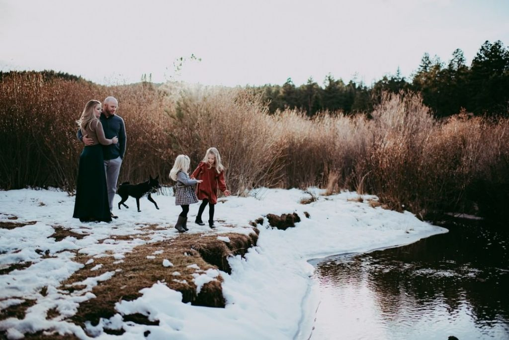 Colorado made the most stunning backdrop for the sweetest little family.