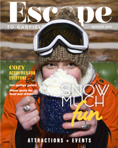 Escape to Garfield County magazine winter