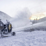 snowmaking in Vail