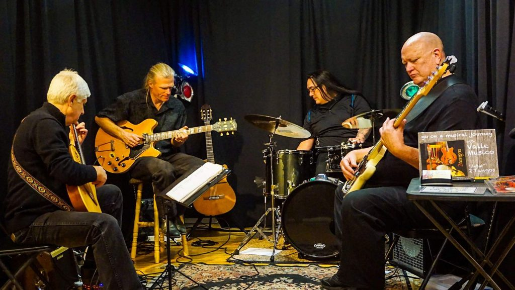 Valle Musico will perform at Steve's Guitars 1,000th live music Friday show tonight.