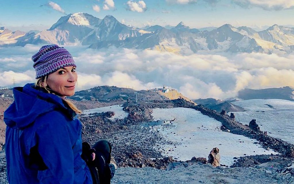 The view from the summit is beautiful, but Meghan Buchanan says you only get to see it if you put in the work.