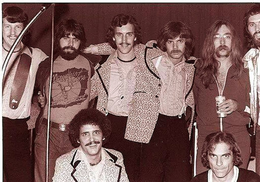 Along with other Hall of Fame musicians, Rod Powell jammed with The Doobie Brothers. That's Rod, back row fourth from left.