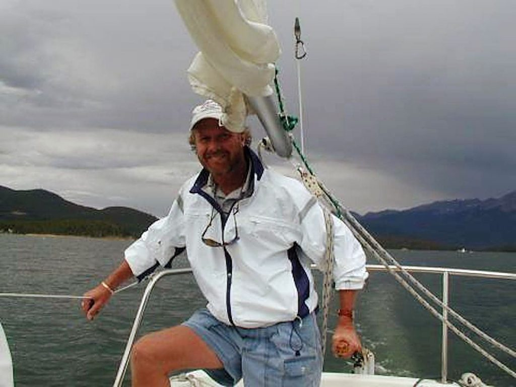 Among his many passions, Rod Powell loved to sail.