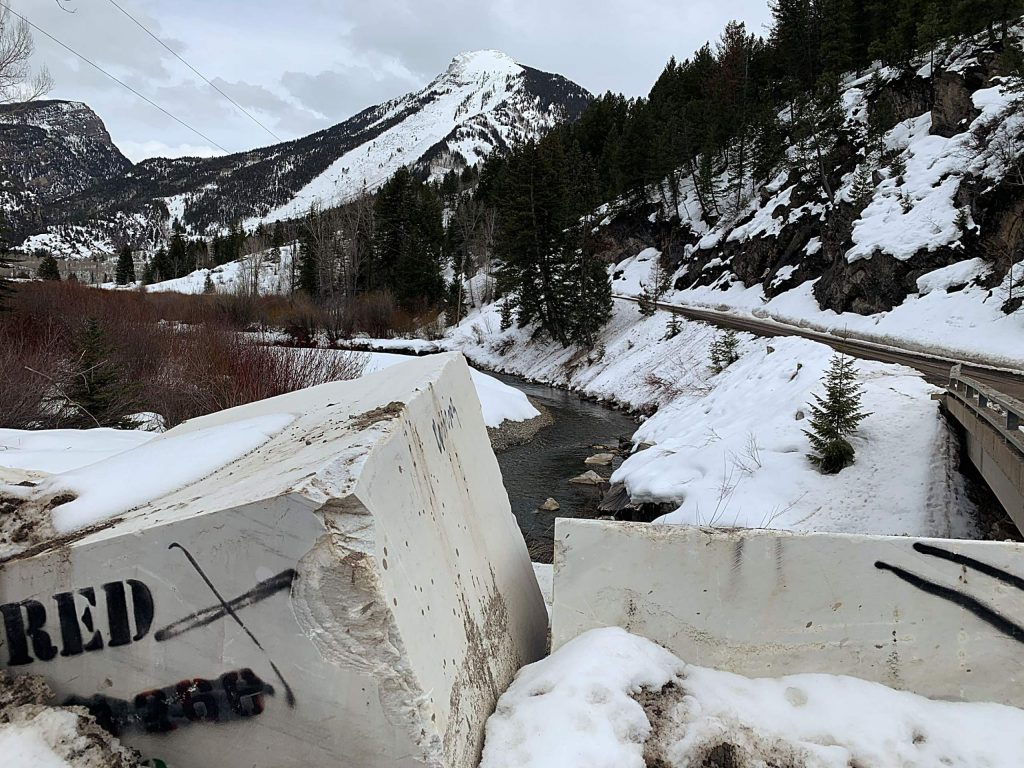 Marble blocks line the banks of the Crystal River where County Road 3C, known as the Quarry Road, crosses the river. Marble quarry operators Colorado Stone Quarries was fined $18,600 by the Division of Reclamation, Mining and Safety for an October diesel spill.