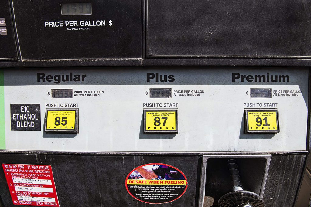 Gas prices were as low as $1.99 at the Old Snowmass Market gas station on Tuesday, April 14, 2020. (Kelsey Brunner/The Aspen Times)