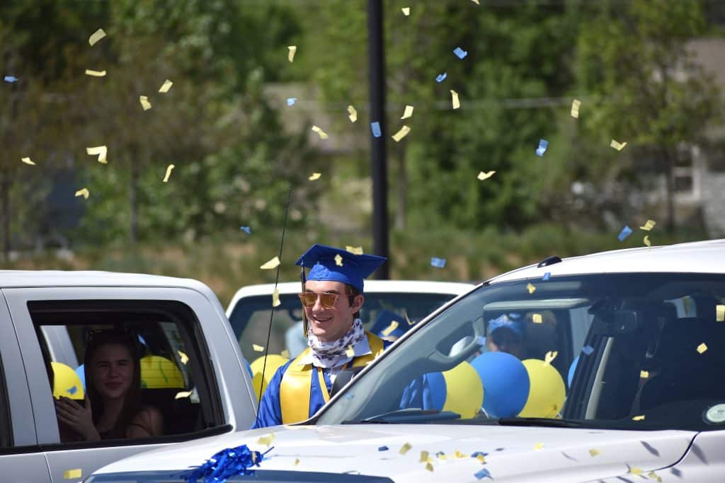 Images from the Roaring Fork High School class of 2020 graduation in Carbondale Saturday morning.