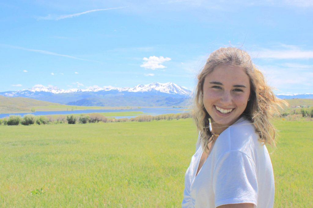 Basalt High School class of 2020 graduate Zoe Vozick