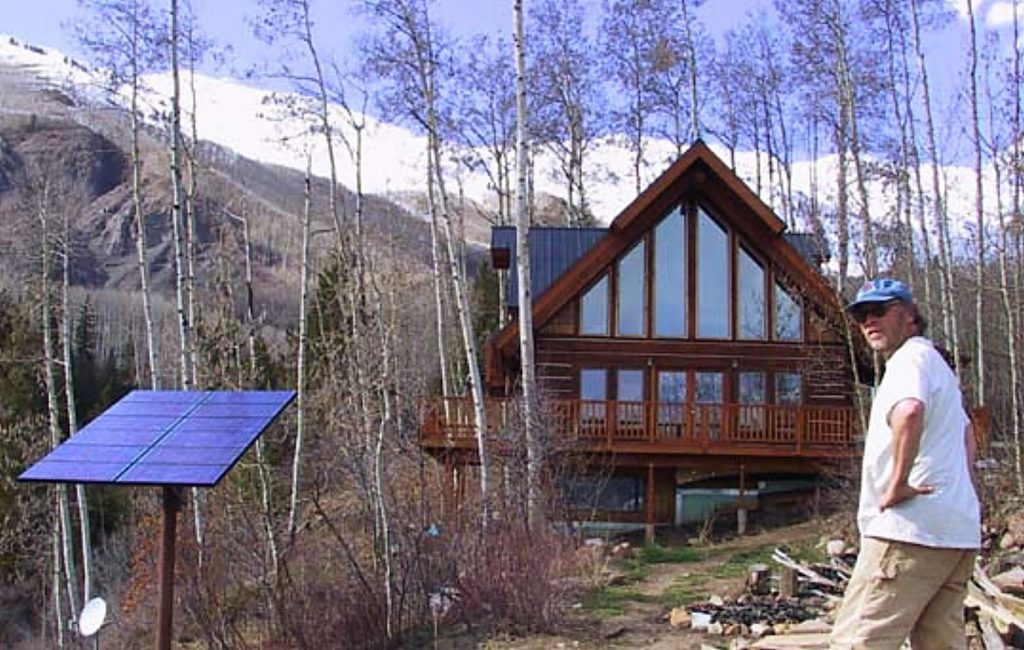 Scott Ely founded Sunsense Solar in 1990 and focused during the early years on building solar electric systems for off-grid cabins and retreats in the woods.
