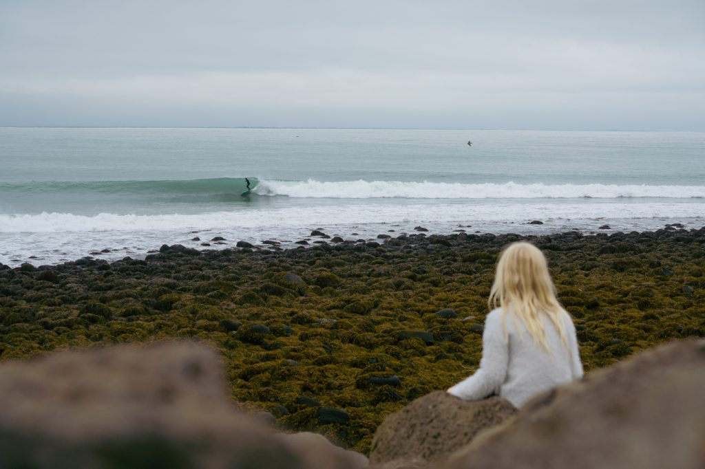 "Photo by Chris Burkard ""Unnur,"" a film that tells a beautiful story of an Icelandic photographer and surfer's life with his daughter."